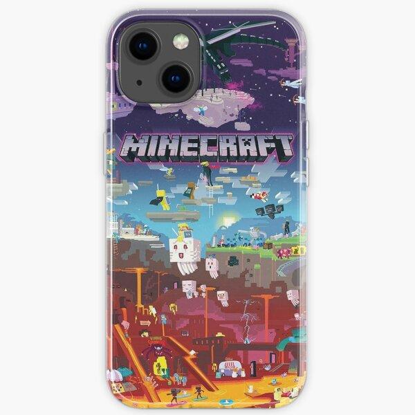 Minecraft Adventures iPhone Soft Case