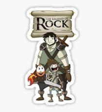 Legend Of Rock Team-Up! Sticker