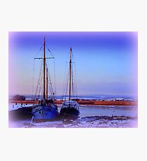 Topsham in Snow Photographic Print