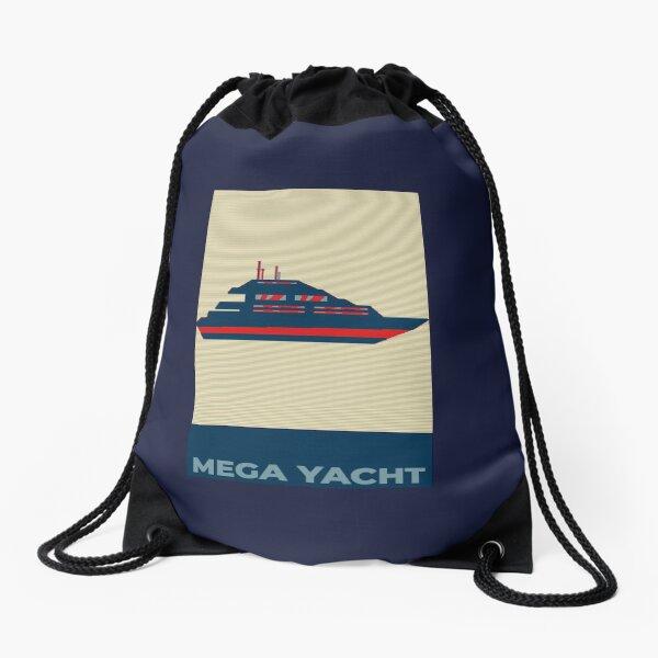 Mega Yacht  Drawstring Bag