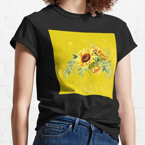 Harvest Sunflower  Classic T-Shirt
