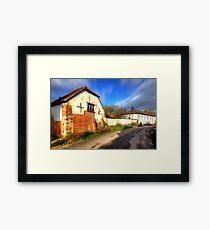 Shitterton - Dorset Framed Print