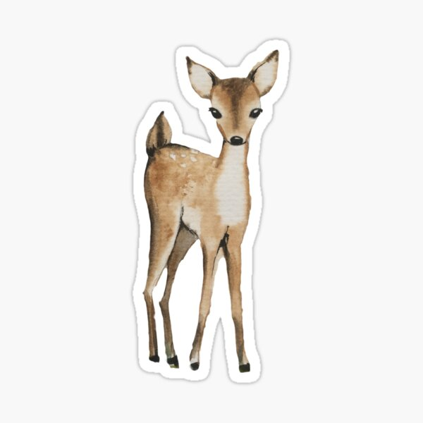 petit deer Sticker