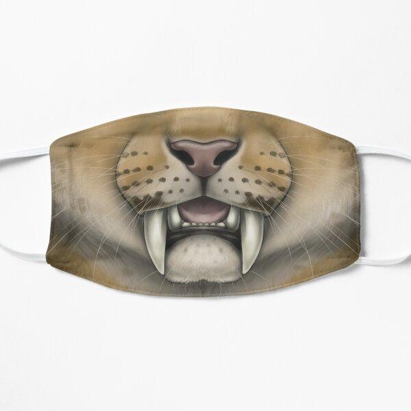 Smilodon Face Flat Mask