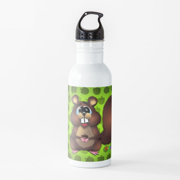 squirrel looking for more nuts Water Bottle