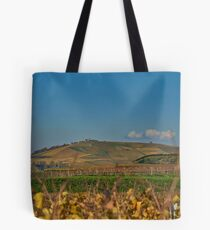 View of the Kaiserstuhl near Burg Sponeck Tote Bag