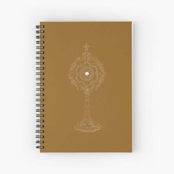 The Most Blessed Sacrament  Spiral Notebook