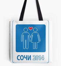 Sochi Russian Love Games 2014 / Сочи - игры любви   Tote Bag