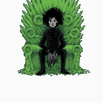 Scissors throne by Naolito