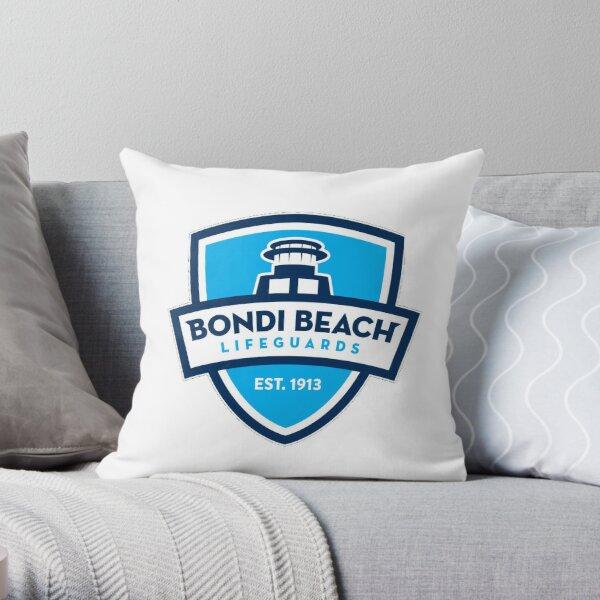 Bondi beach rescue  Throw Pillow