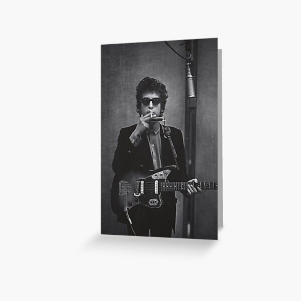 Dylan in the Studio Greeting Card