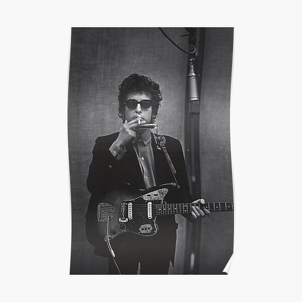 Dylan in the Studio Poster