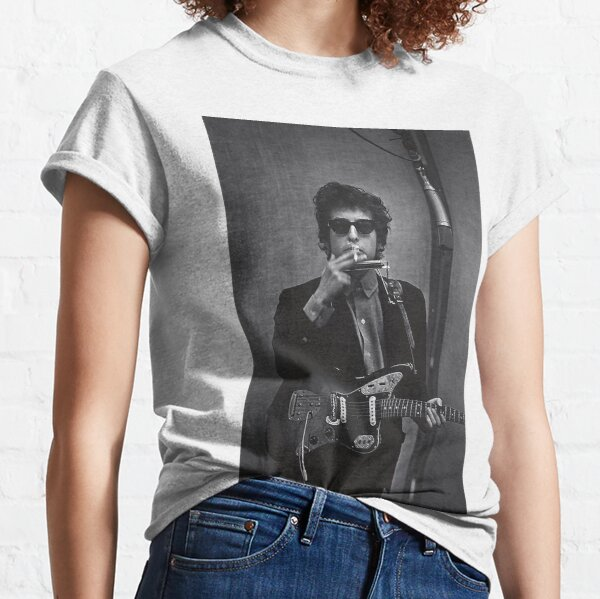 Dylan en el estudio Camiseta clásica
