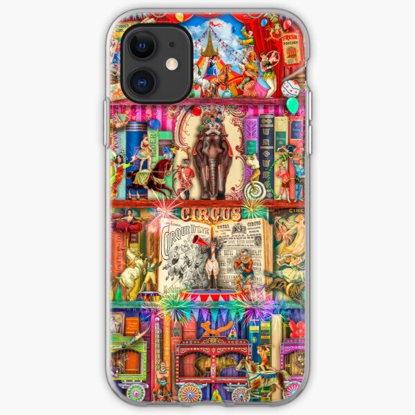 The Marvelous Circus iPhone Soft Case