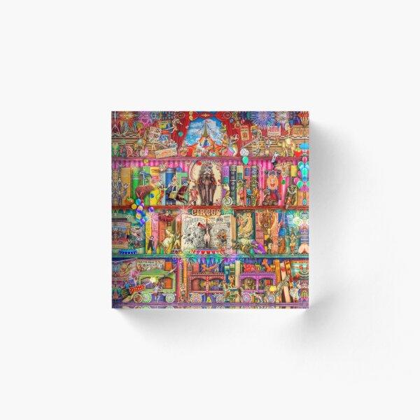 The Marvelous Circus Acrylic Block