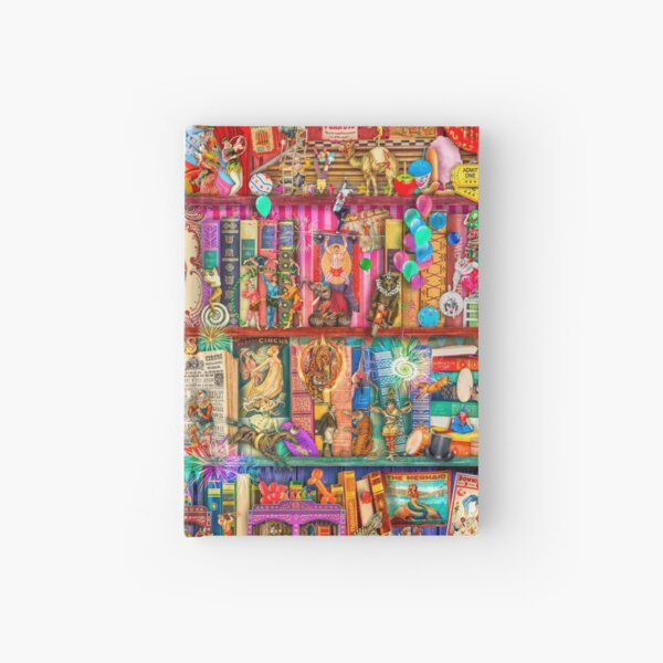 The Marvelous Circus Hardcover Journal