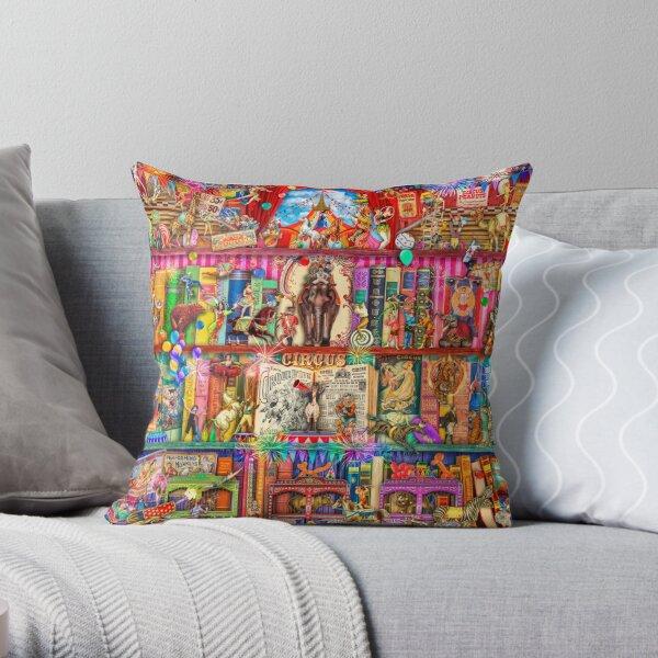 The Marvelous Circus Throw Pillow