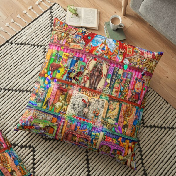 The Marvelous Circus Floor Pillow