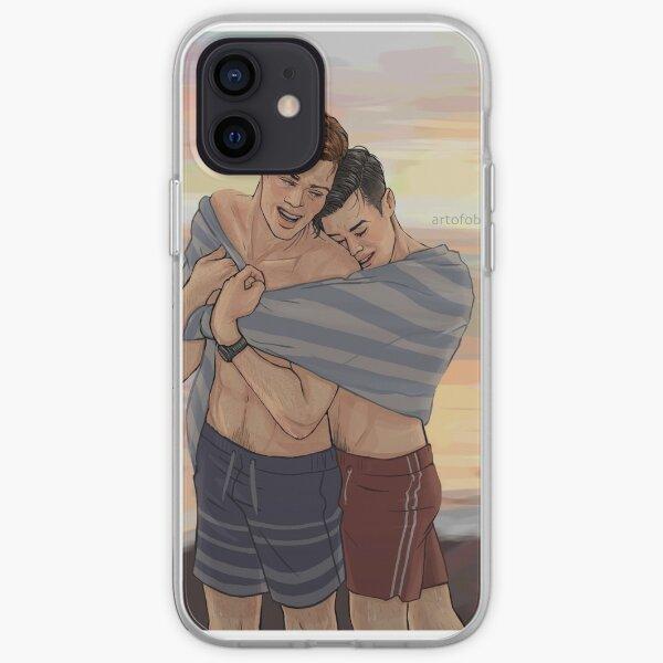 Beach Cuddles iPhone Soft Case