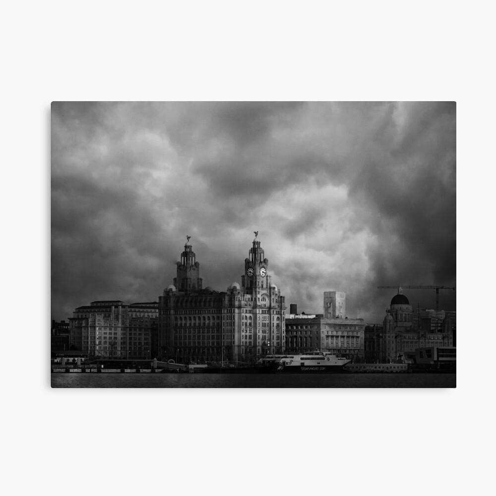 Across the Mersey Canvas Print