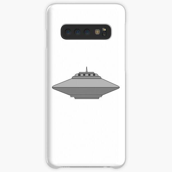 UFO Flying Saucer Alien Spaceship Cartoon Samsung Galaxy Snap Case
