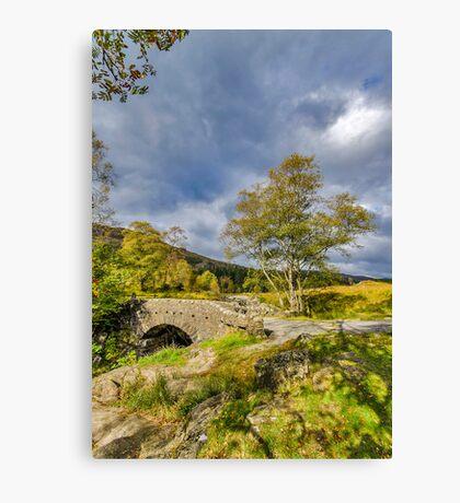 Birks Bridge Duddon Valley Canvas Print