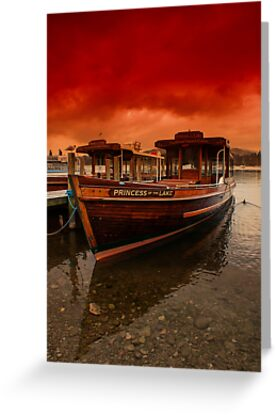 lake Windermere Boat by Trevor Kersley