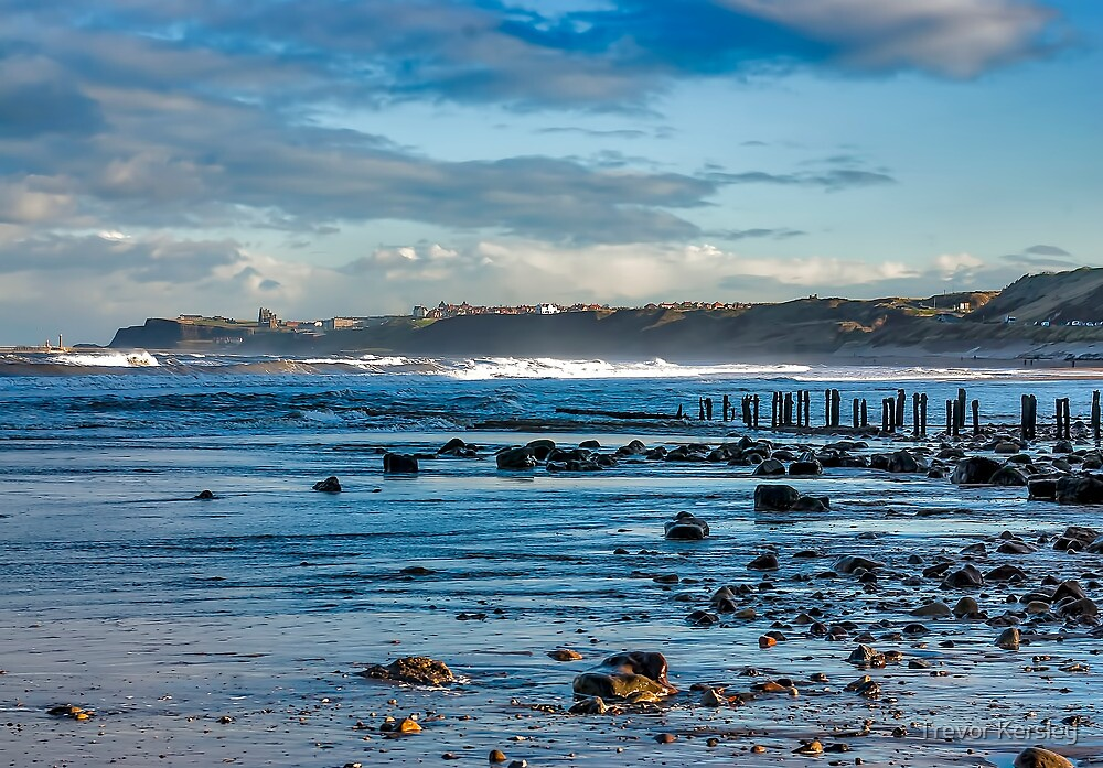 Sandsend Seascape by Trevor Kersley