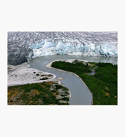 Glacial Rivers Photographic Print
