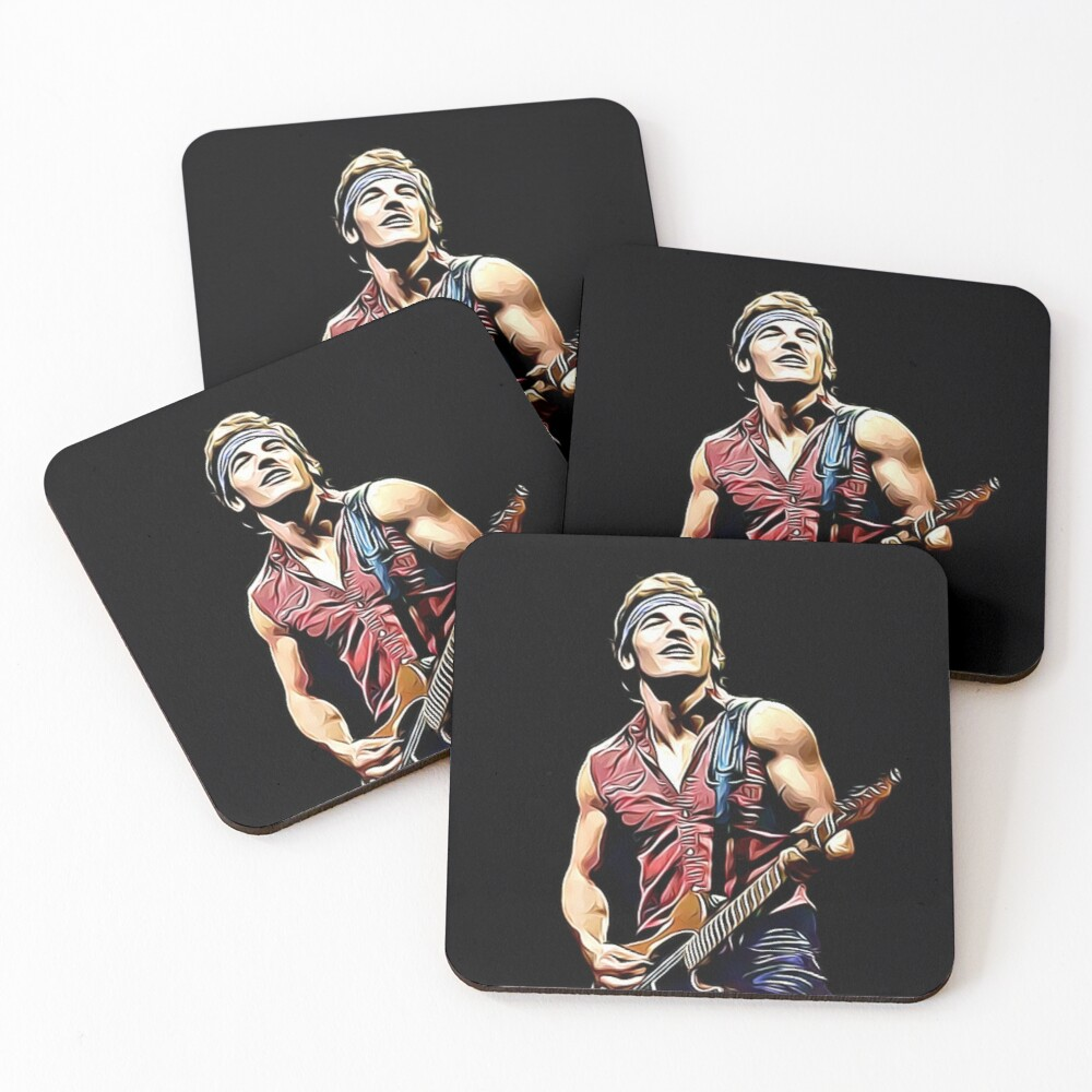 Bruce springsteen Coasters (Set of 4)