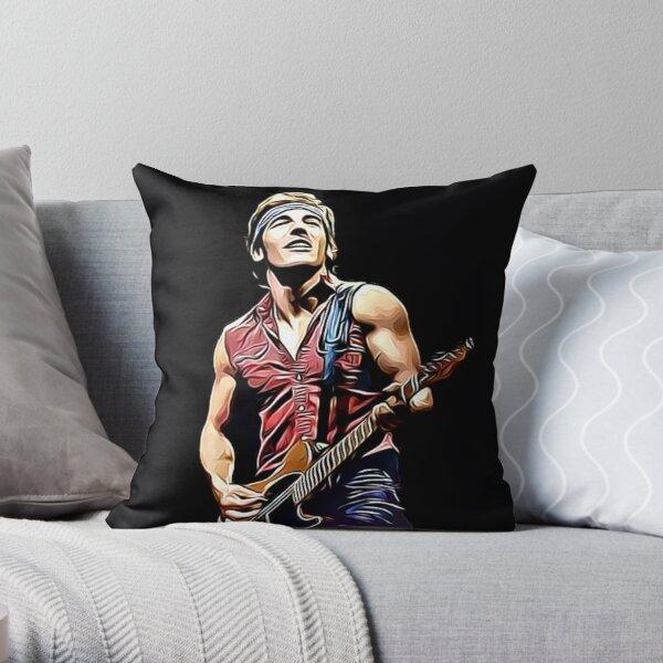 Bruce springsteen Throw Pillow