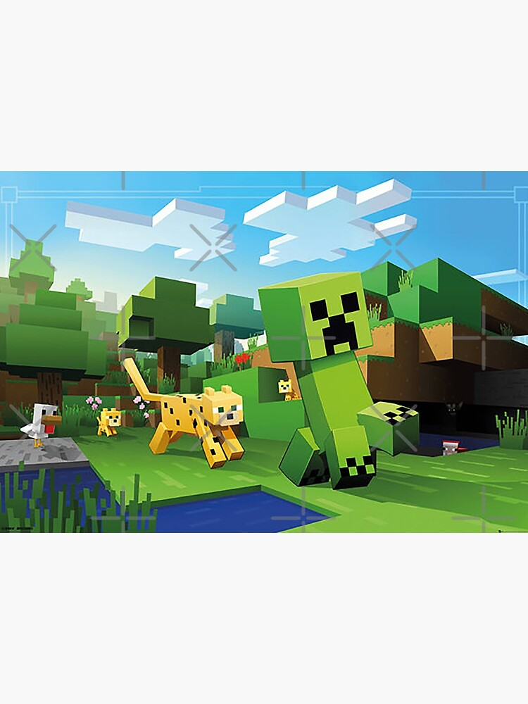 Minecraft in the Wild by OneEyedSmile