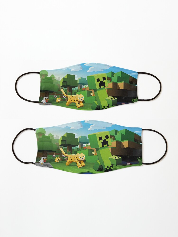 Alternate view of Minecraft in the Wild Mask
