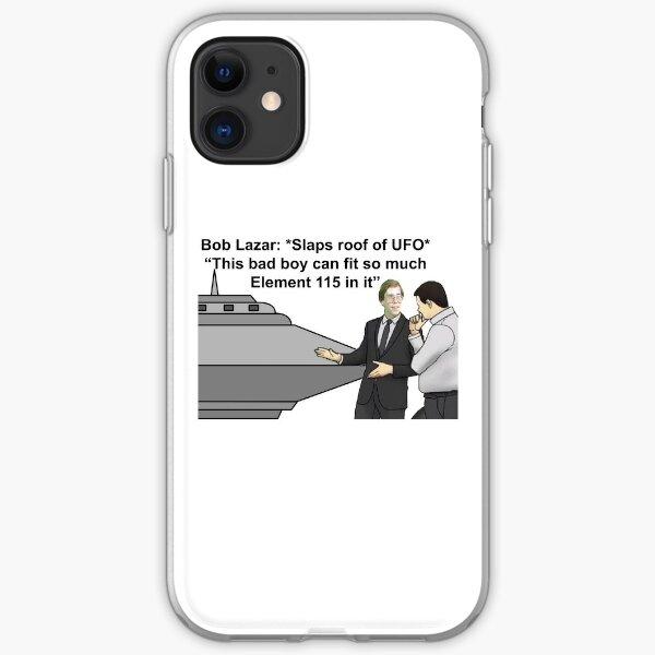Bob Lazar *Slaps Roof of UFO* iPhone Soft Case