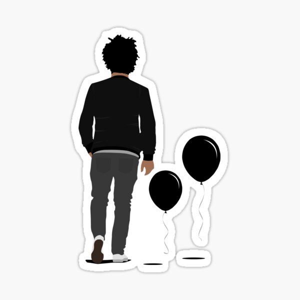 Trilogy House of Balloons Art Sticker