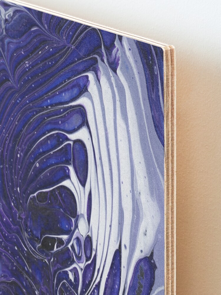 Alternate view of Cosmic Tidepool Mounted Print