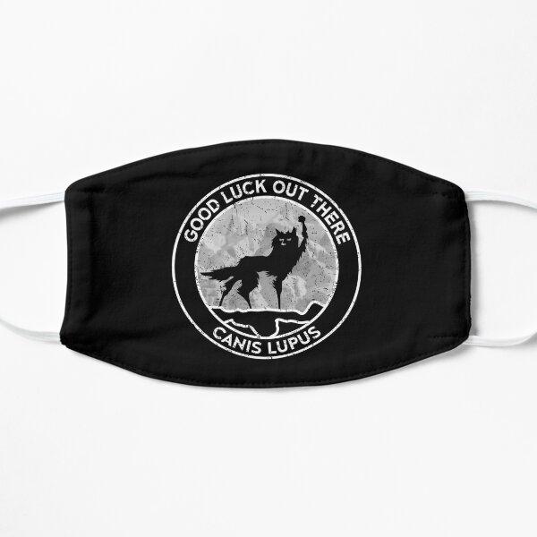 Fantastic Mr Fox - Wolf - Canis Lupus - Fill - Distressed Flat Mask