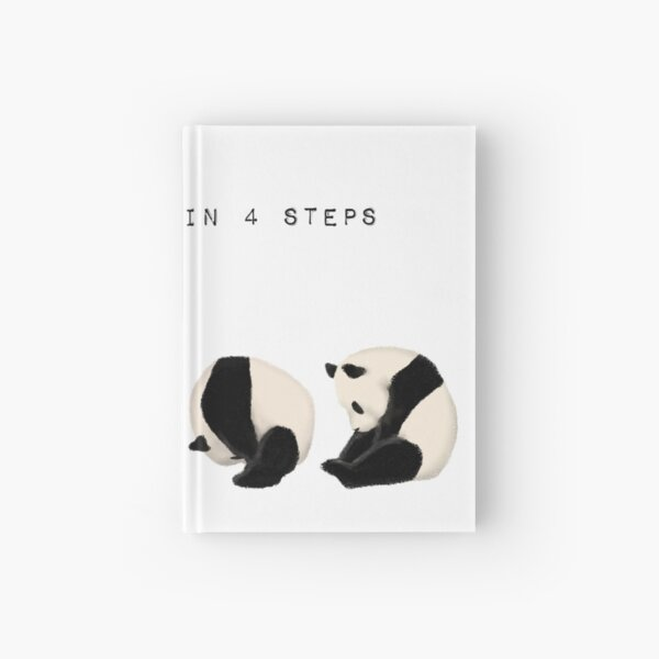 Somersault in 4 steps Hardcover Journal