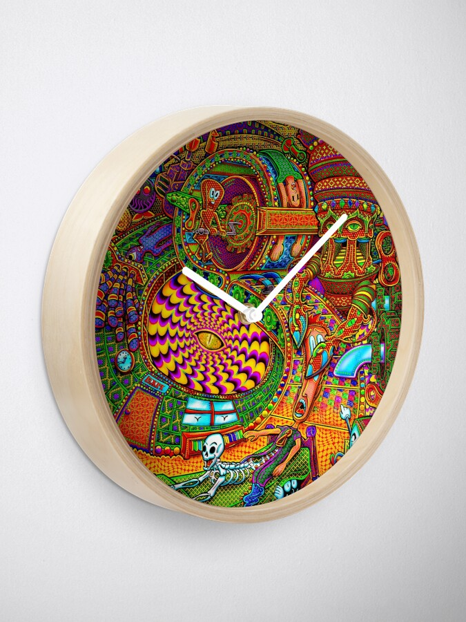 Alternate view of Carnival of the Abyss Clock