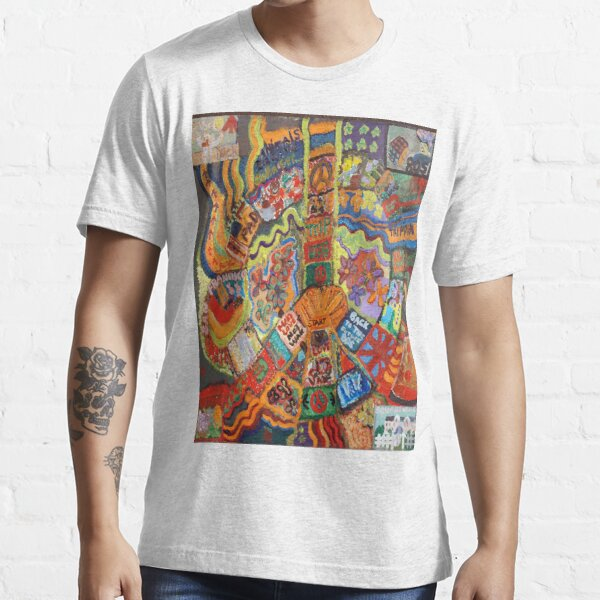 Groovy 60s Peace Essential T-Shirt