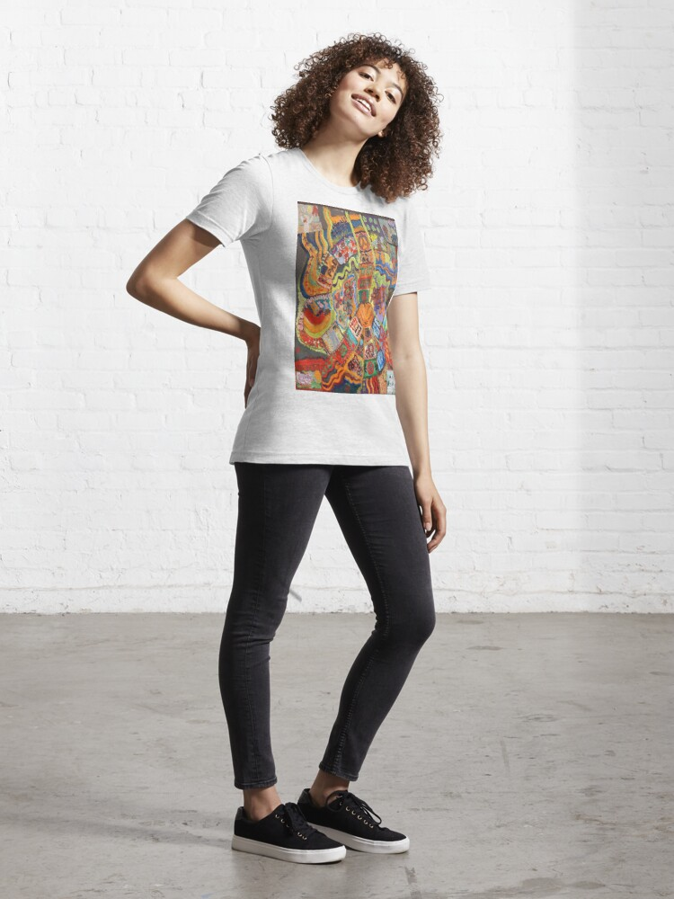 Alternate view of Groovy 60s Peace Essential T-Shirt