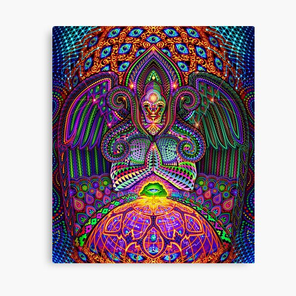 The God Source Canvas Print