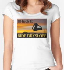 Huck It Women's Fitted Scoop T-Shirt