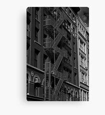 Soho Fire Escape No.2, New York Canvas Print
