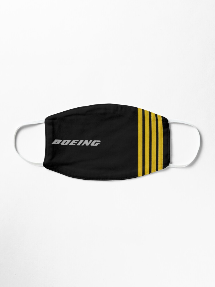 Alternate view of Boeing Stripes Mask