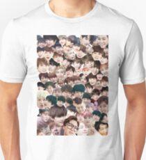 BTS/Bangtan Sonyeondan - Faces Unisex T-Shirt