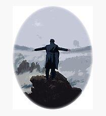 Sherlock above the Sea of Fog Photographic Print
