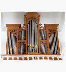 Pipe Organ Poster