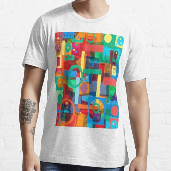 Shapes In Hues In Motion Essential T-Shirt