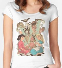 Wonderlands Women's Fitted Scoop T-Shirt